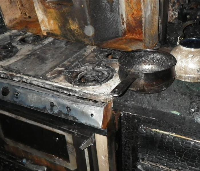 Kitchen fire in St. Albans, WV Before